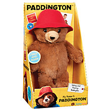 Buy Paddington Bear My Name Is Paddington Online at johnlewis.com