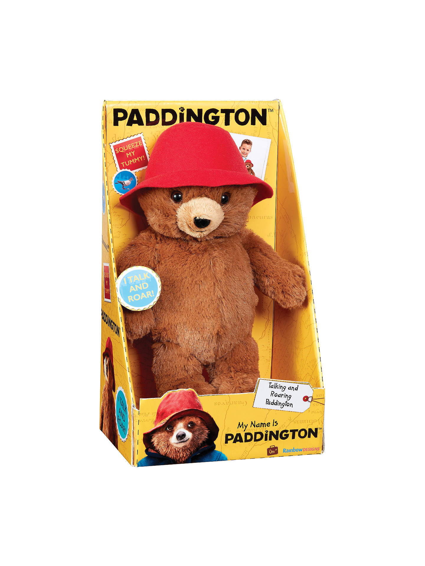 Paddington Bear My Name Is Paddington Soft Toy At John Lewis Partners