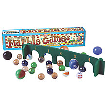 Buy House of Marbles Marble Games Starter Set Online at johnlewis.com