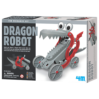 Image of 4M Build Your Own Dragon Robot
