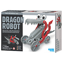 Buy 4M Build Your Own Dragon Robot Online at johnlewis.com