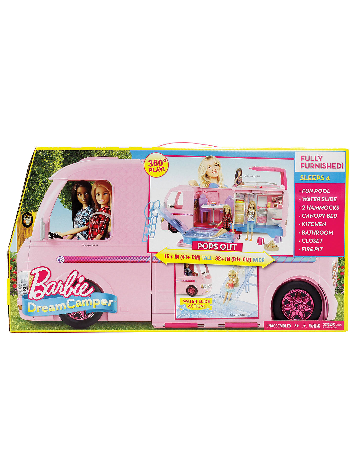 Buy Barbie Dream Camper Van Online at johnlewis.com