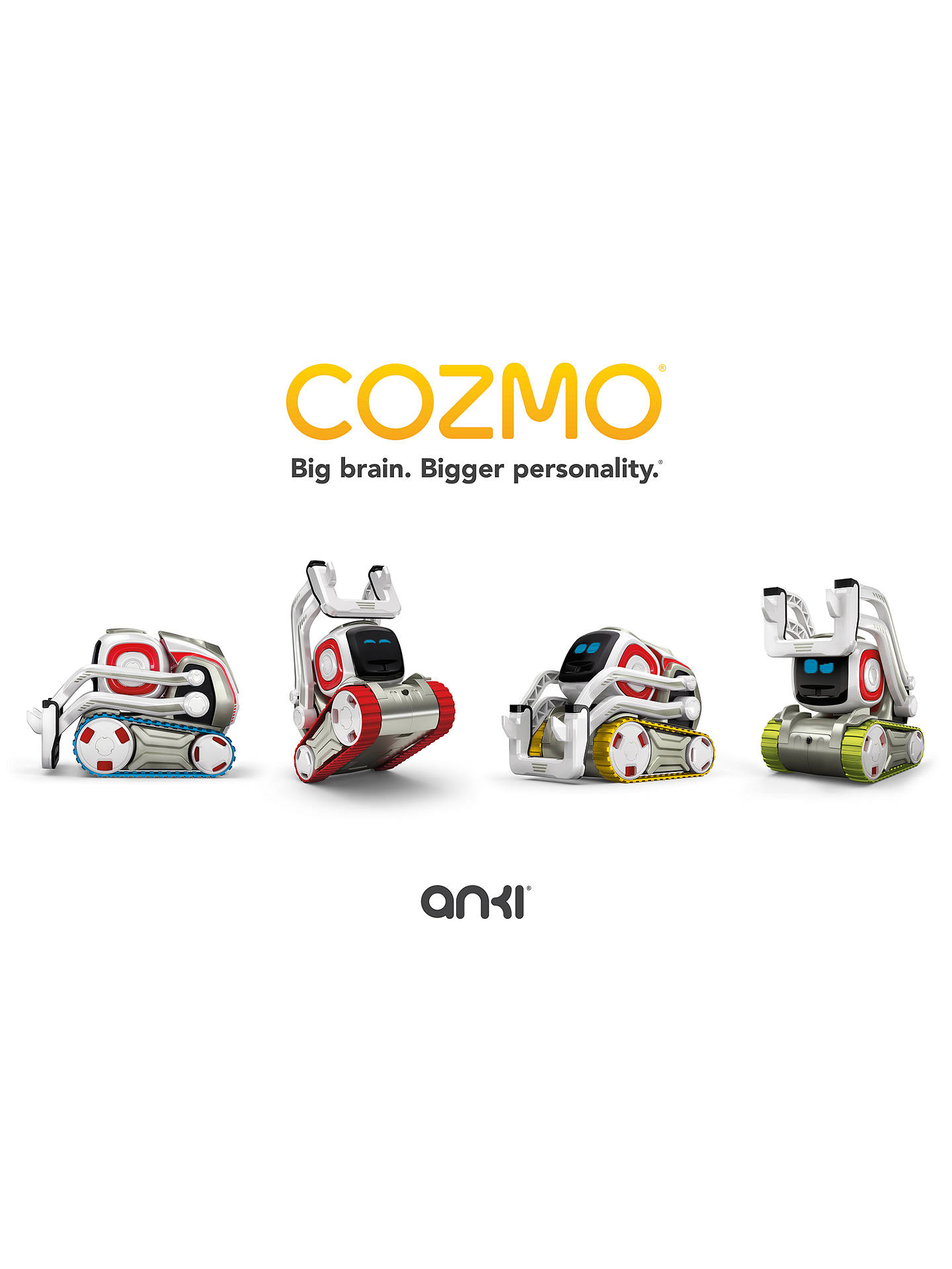 Buy Anki Cozmo Tread Pack Online at johnlewis.com