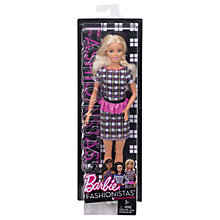 Buy Barbie Fashionistas Peplum Power Doll Online at johnlewis.com
