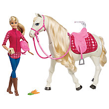 Buy Barbie Dream Horse Online at johnlewis.com