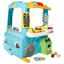 Buy Fisher-Price Laugh & Learn Servin' Up Fun Food Truck Online at johnlewis.com