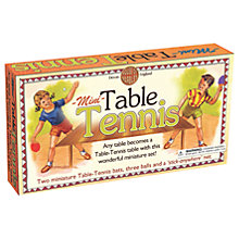 Buy House of Marbles Mini Table Tennis Game Online at johnlewis.com