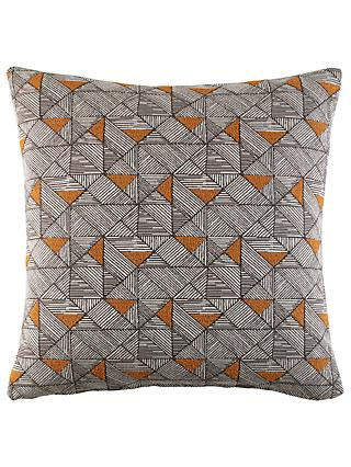 G Plan Vintage Scatter Cushion, Geo Copper