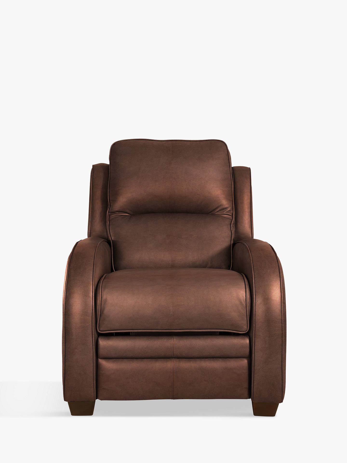 Buy Parker Knoll Charleston Leather Power Recliner Armchair, London Saddle Leather Online at johnlewis.com