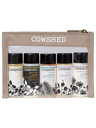Cowshed Pocket Cow Bath & Body Essentials Kit