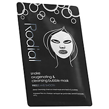 Buy Rodial Snake Oxygenating & Cleansing Bubble Individual Sheet Mask Online at johnlewis.com