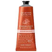 Buy Crabtree & Evelyn Pomegranate & Argan Oil Nourishing Hand Therapy, 100ml Online at johnlewis.com