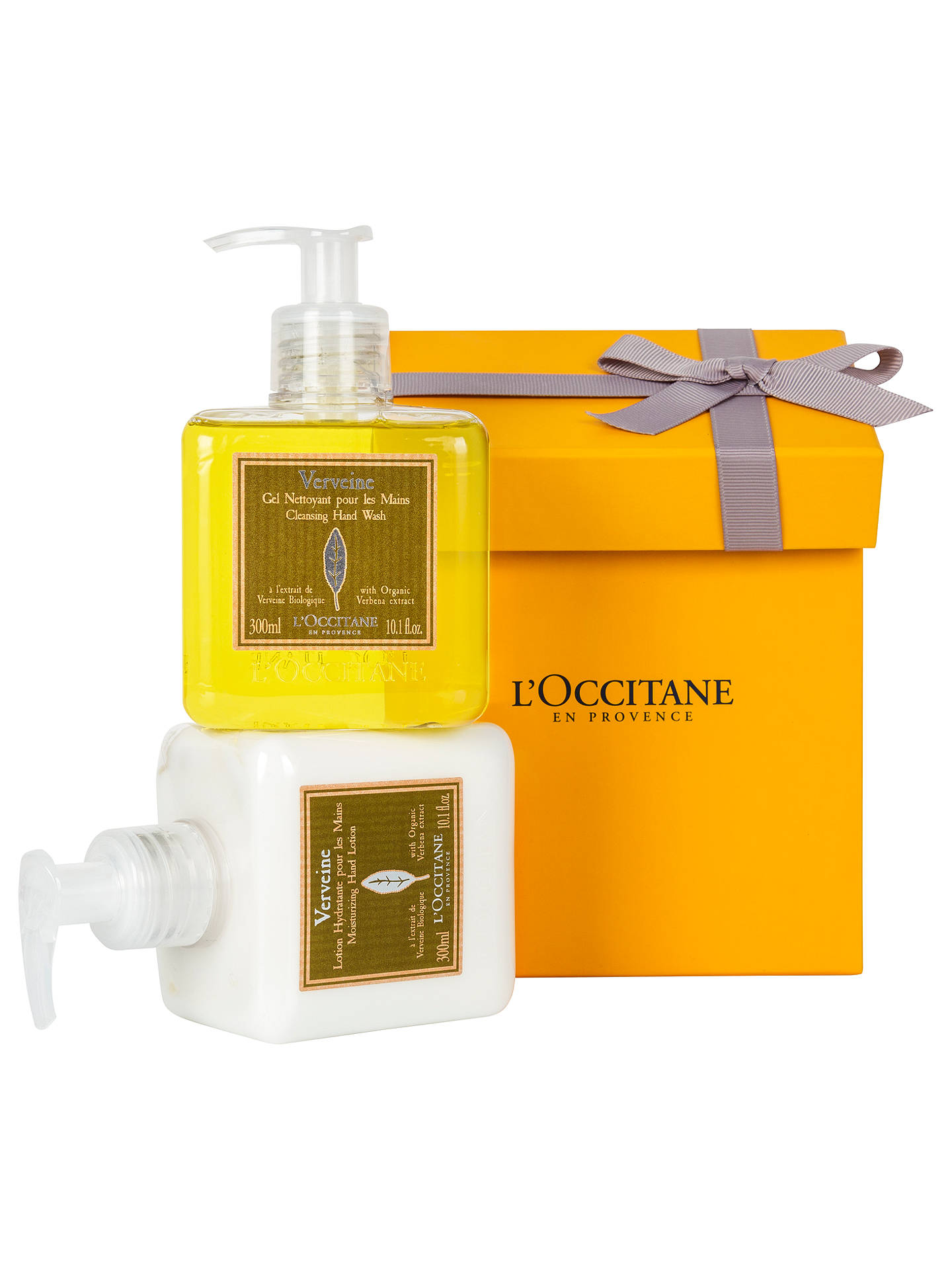 BuyLOccitane Verbena Hand Wash Lotion Gift Set Online At Johnlewis