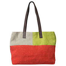 Buy East Patchwork Jute Bag, Multi Online at johnlewis.com