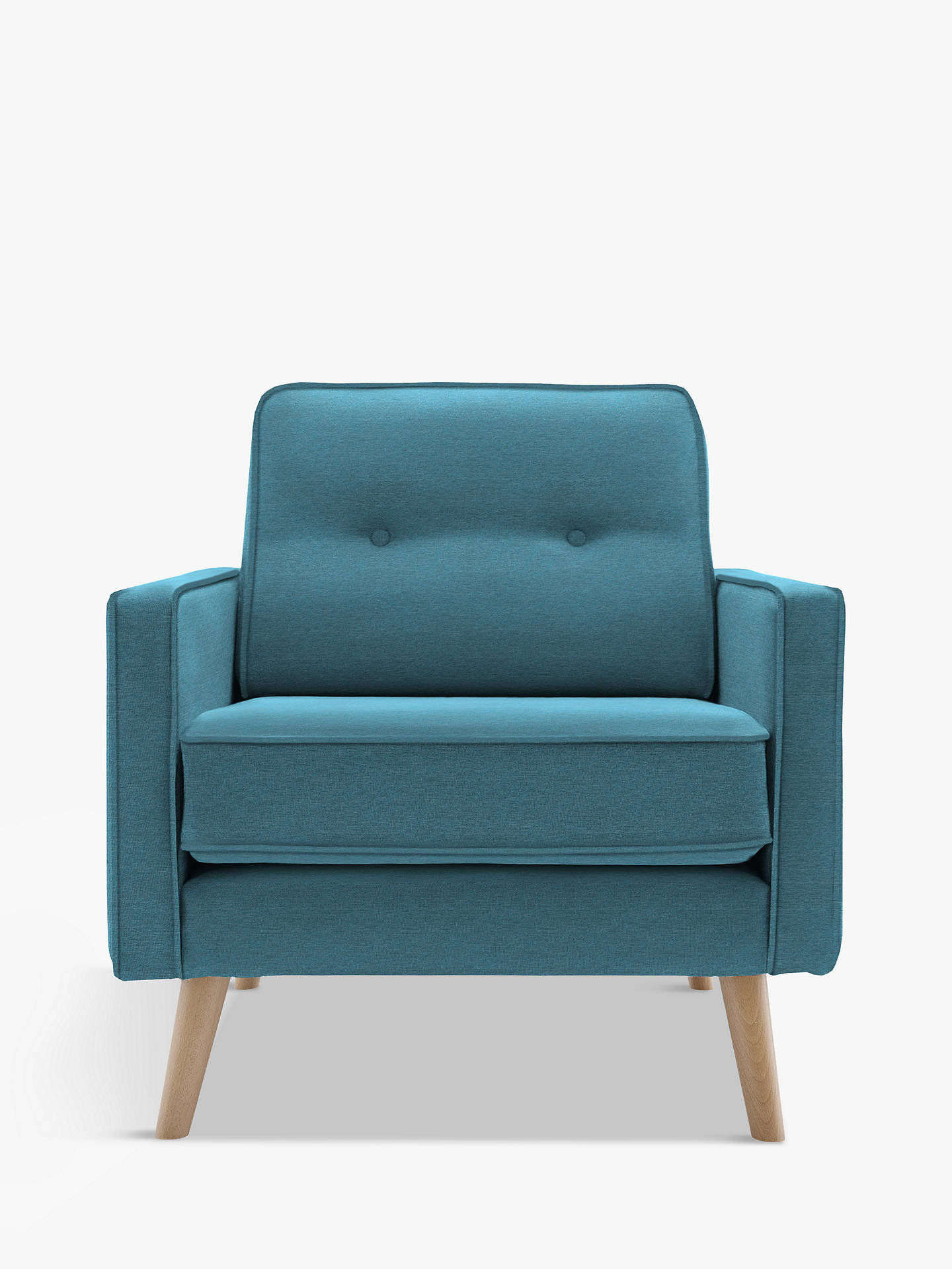 Buy G Plan Vintage The Sixty Five Armchair, Fleck Blue Online at johnlewis.com