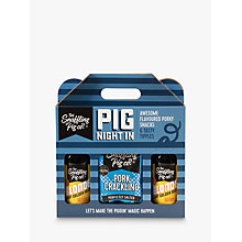 Buy The Snaffling Pig Co. Pig Night In Pork Crackling and Beer Online at johnlewis.com