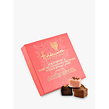 Buy Holdsworth Marc de Champagne and Strawberry Truffles with Popping Candy, 115g Online at johnlewis.com
