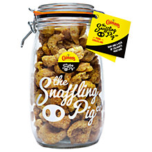 Buy The Snaffling Pig Co. Colman's Mustard Pork Crackling, 1.5kg Online at johnlewis.com