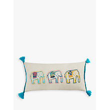 Buy John Lewis Fusion Elephant Cushion, Multi Online at johnlewis.com