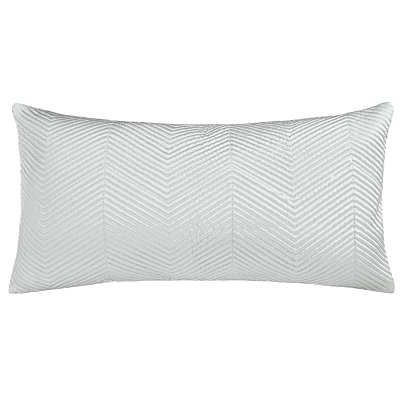 John Lewis Boutique Hotel Linear Cushion, Frost