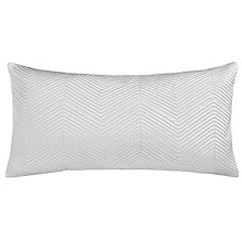 Buy John Lewis Boutique Hotel Linear Cushion, Frost Online at johnlewis.com
