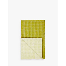 Buy John Lewis Boutique Hotel Contrast Velvet Quilted Bedspread, Citrine Online at johnlewis.com