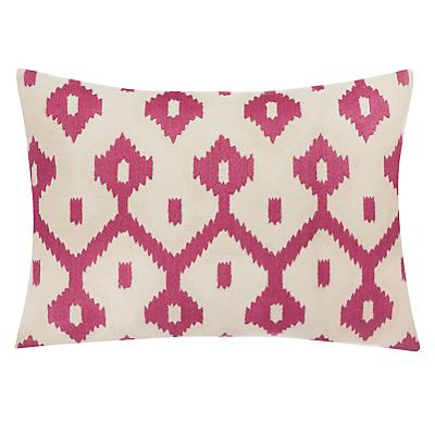 John Lewis Fusion Ikat Cushion, Jaipur Dusk