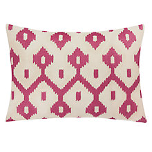 Buy John Lewis Fusion Ikat Cushion, Jaipur Dusk Online at johnlewis.com