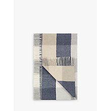 Buy John Lewis Cashmere Blend Check Throw, Multi Online at johnlewis.com