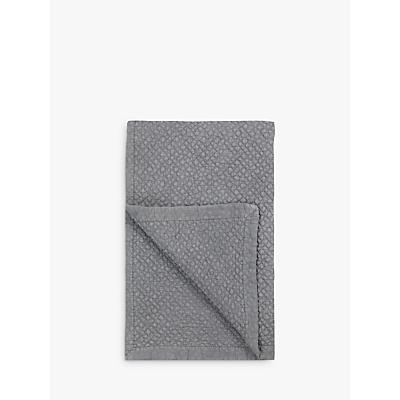 John Lewis Chevron Bedspread, Grey