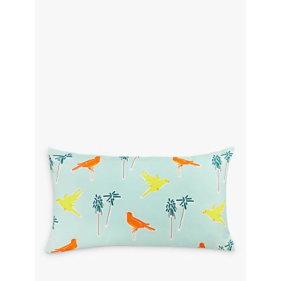 John Lewis Canaries Cushion, Multi