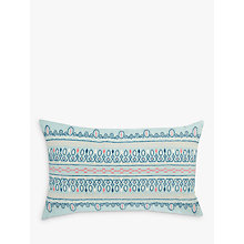 Buy John Lewis Fusion Mahal Cushion, Agate Online at johnlewis.com