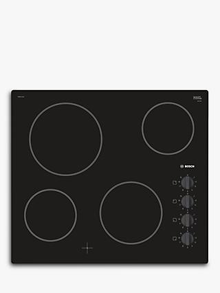 Bosch Serie 2 PKE611CA1E Electric Ceramic Hob, Black