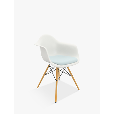 Vitra Eames DAW 43cm Armchair, White