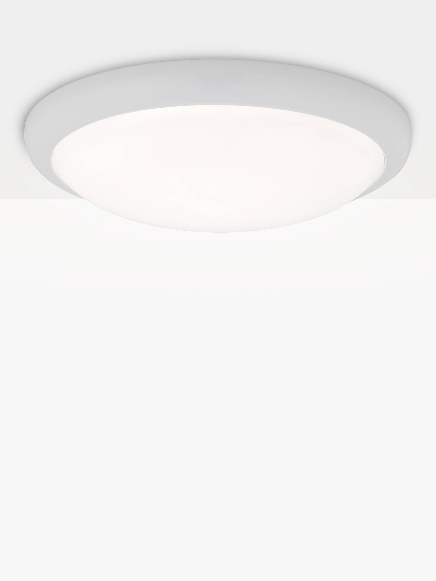 Saxby Montana Led Flush Ceiling Light White Online At Johnlewis
