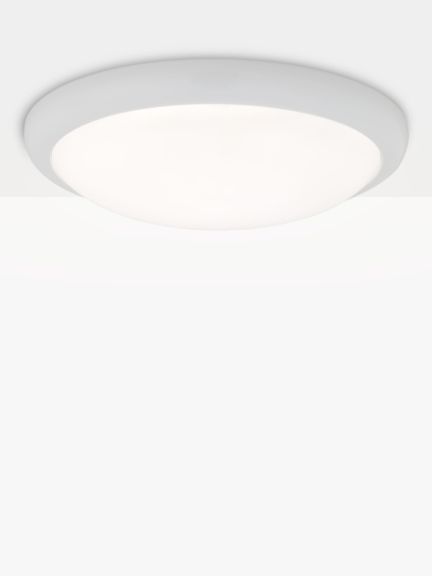 Saxby Saxby Montana LED Flush Ceiling Light, White
