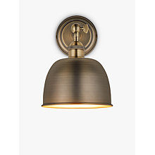 Buy John Lewis Baldwin Wall Light Online at johnlewis.com