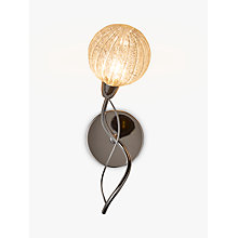 Buy John Lewis Robertson Single Wall Light, Chrome Online at johnlewis.com
