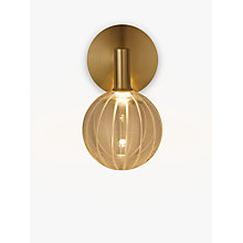 Buy John Lewis Marlo LED Wall Light, Gold Online at johnlewis.com