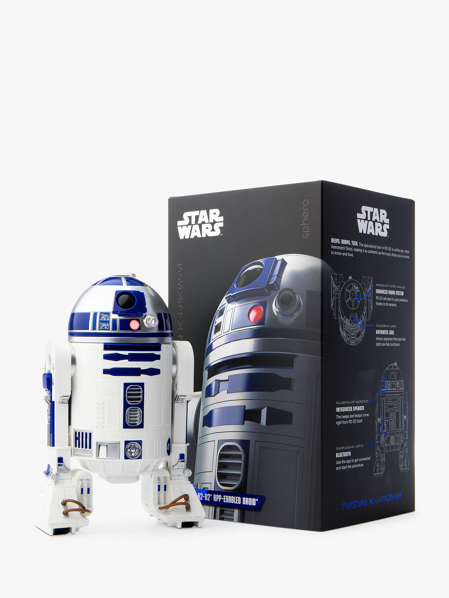 BuySphero Star Wars R2-D2 App-Enabled Droid Online at johnlewis.com