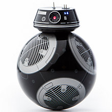 Buy Sphero Star Wars BB-9E App-Enabled Droid with Trainer Droid Online at johnlewis.com