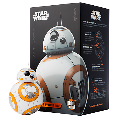 Sphero Star Wars BB-8 App-Enabled Droid with Trainer Droid