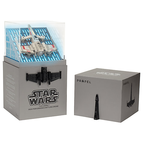 Buy Propel Star Wars Drone, Collector's Edition, T-65 X-Wing Starfighter Online at johnlewis.com