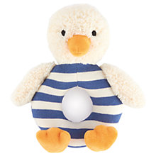 Buy Jellycat Bredita Duck Grabber, One Size, Blue/Cream Online at johnlewis.com