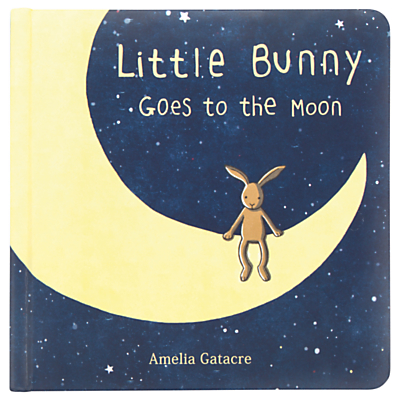 Jellycat Little Bunny Goes to Moon Children's Book