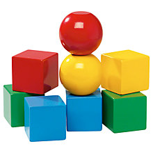 Buy Brio Wooden Wooden Magnetic Blocks Online at johnlewis.com