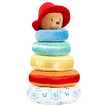 Buy Rainbow Designs Paddington Bear Stacking Rings Online at johnlewis.com
