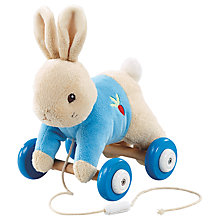 Buy Rainbow Designs Peter Rabbit Pull Along Toy Online at johnlewis.com