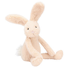 Buy Jellycat Sweetie Bunny Soft Toy, Cream Online at johnlewis.com