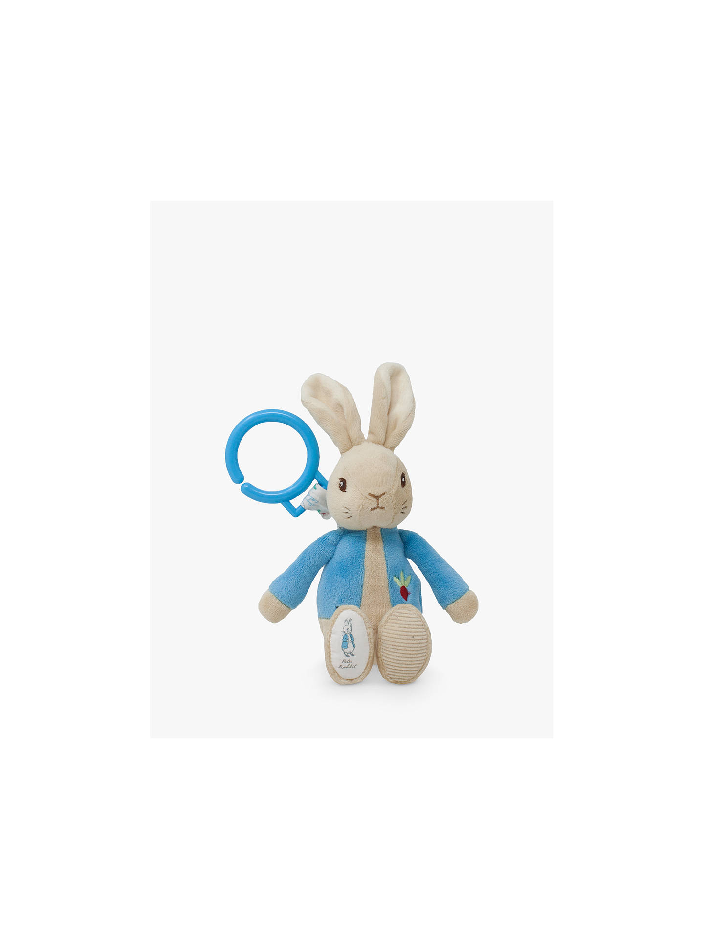 BuyBeatrix Potter Peter Rabbit Jiggle Soft Toy Online at johnlewis.com